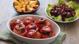 Cuisine de l'été : Menu léger et délicieux  sans viande