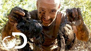 'Tonight is a Feast!' | Ed Stafford: Left For Dead