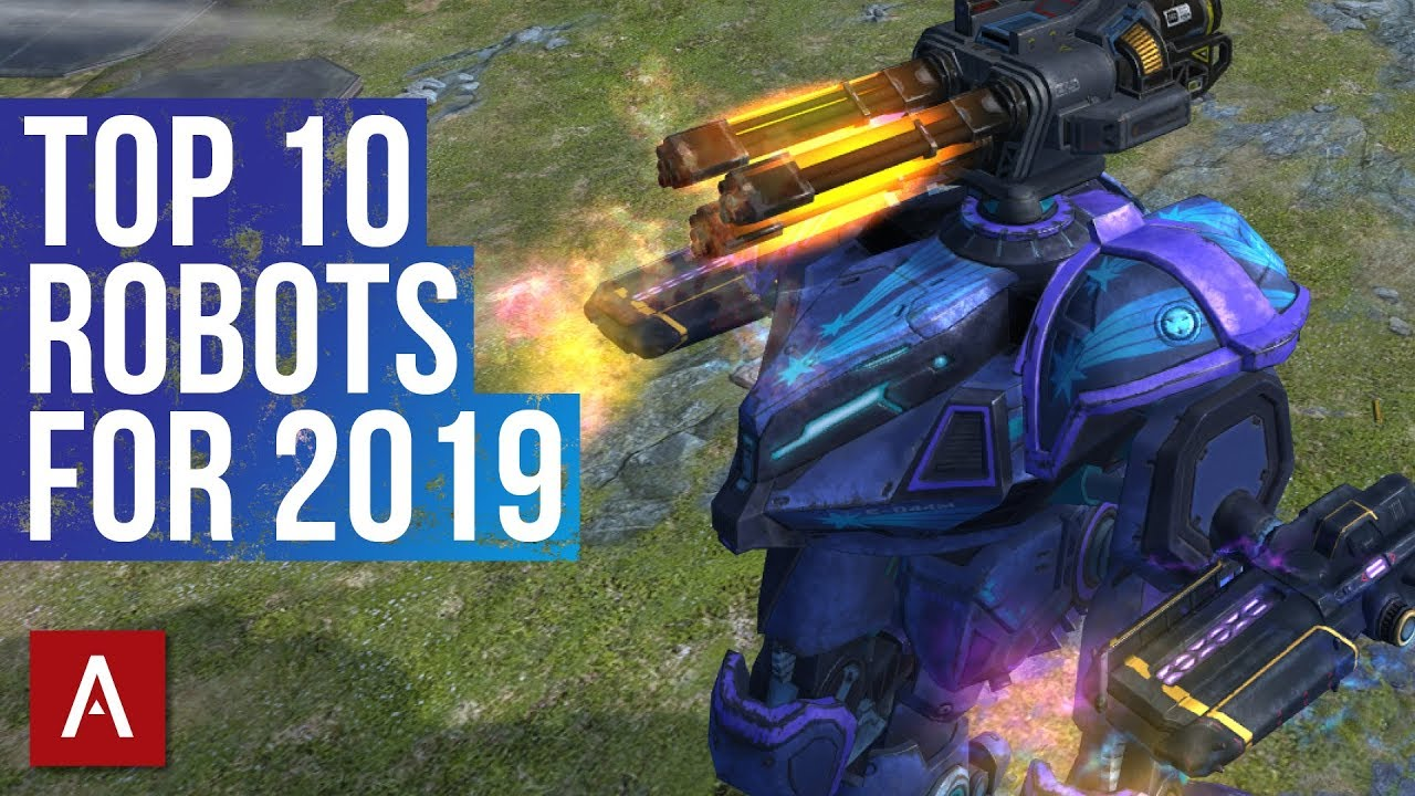 War Robots TOP 10 ROBOTS 2019 | WR