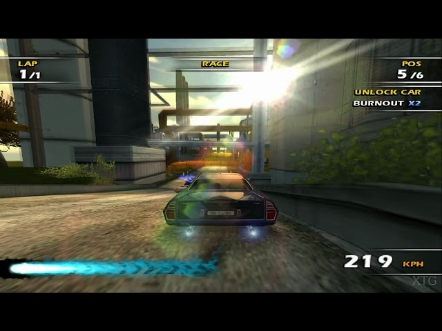 Burnout Dominator PS2 Gameplay HD (PCSX2)