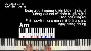 Hướng dẫn Piano: LẠC TRÔI (Sơn Tùng M-TP) - Đệm hát đơn giản