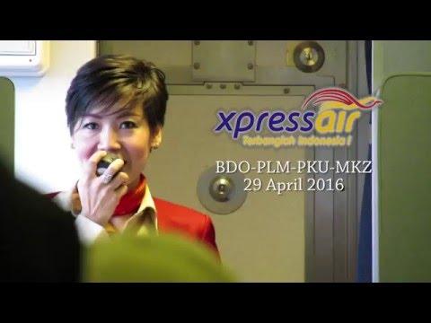 Xpress Air Bandung - Palembang - Pekanbaru - Malacca (preview)