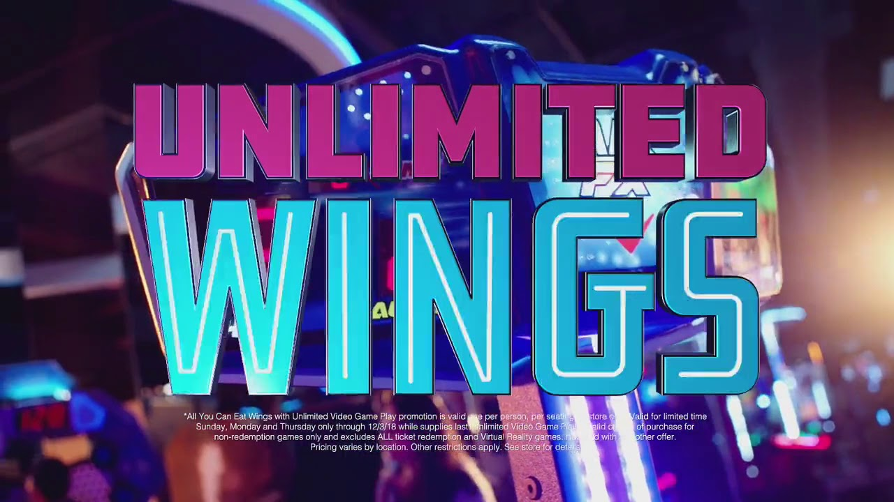 Dave Buster S Unlimited Video Game Play Unlimited