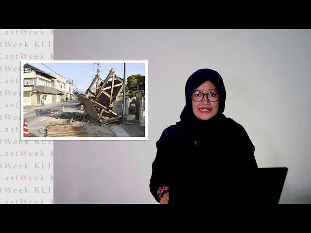 Jepang Alami Gempa Bumi | Revisi UU Pemilu Batal | GAR ITB Laporkan Din : Klik Last Week Eps 3