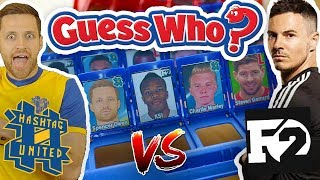 F2 vs hashtag united guess who? wembley cup challenge