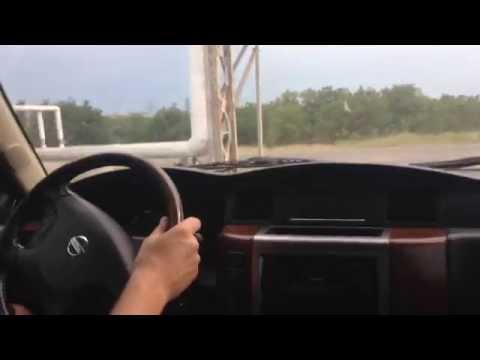 Nissan Patrol 3.0 DTi за рулём