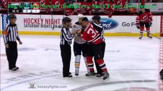 Top Ten NHL Hockey Fights of January 2015