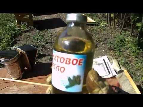 Обработка пчел от акарапидоза