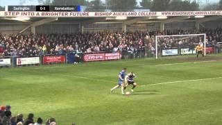 Darlington 0-2 Ramsbottom United - Evo-Stik First Division North Play-Off Semi Final - 2013/14