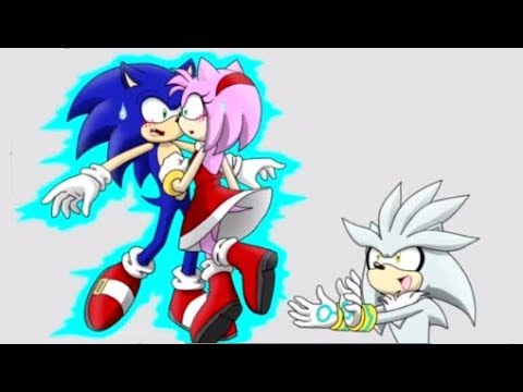 Silver What Are You Doing Sonic Comic Dub Animation Compilation Youtube