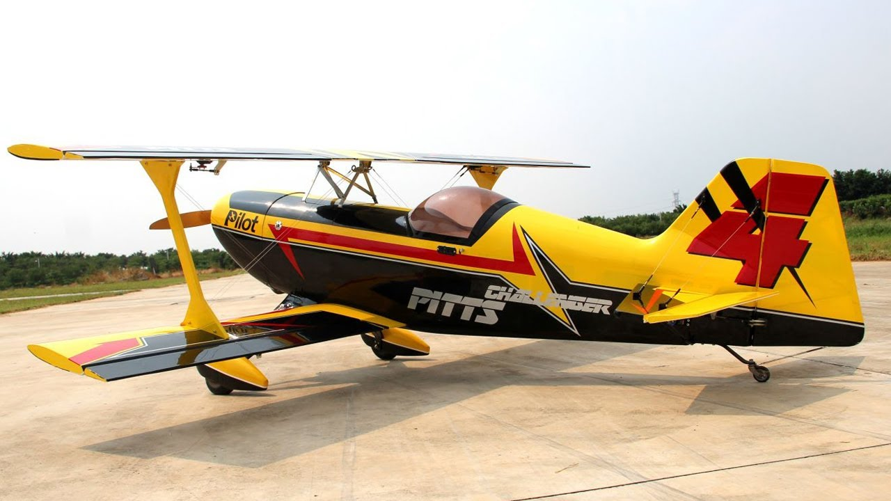 Pilot-RC: Pitts Challenger - 87