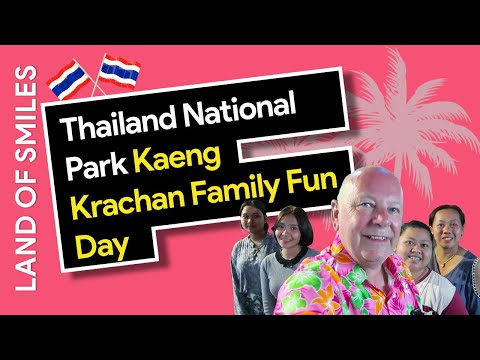 Thailand National Park Kaeng Krachan Family Fun Day Out Splashing Around