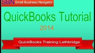 Quickbooks Training Lethbridge
