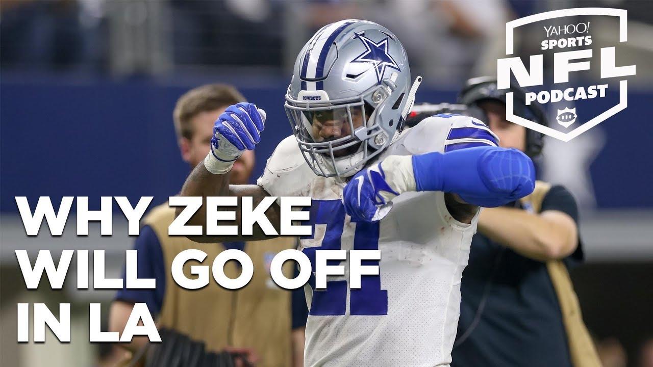 Yahoo Sports NFL Podcast: Why Ezekiel Elliott will go off against the L.A. Rams