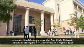 Abu Dhabi University   جامعـــة أبوظبــي