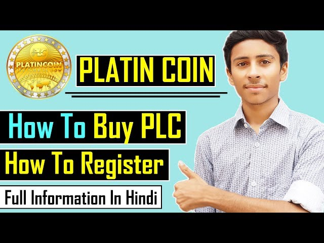 How To Register & Buy Platincoin Easily    PLC Coin Buy-Sell Hindi