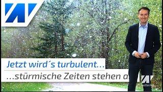 Chaoswetter: Jetzt gibt´s Sturm, Regen und sogar Schnee!