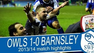 Sheffield Wednesday v Barnsley | Championship  2013/2014 Highlights