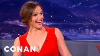 Jennifer Garner Interview Pt. 2 10/03/12 - CONAN on TBS