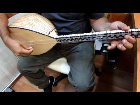 TURKISH BINDING GOOD QUALITY MAPLE SHORT NECK SAZ BAGLAMA FOR SALE