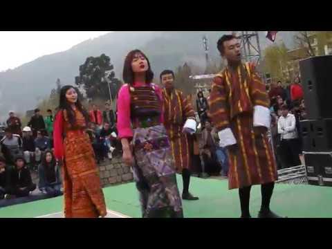 Bhutanese Modern Song (Rigsar Dance) 2017 - Live at Changlimithang