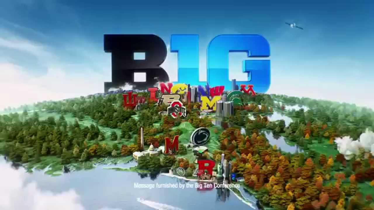 Big Ten Conference PSA Maps  YouTube