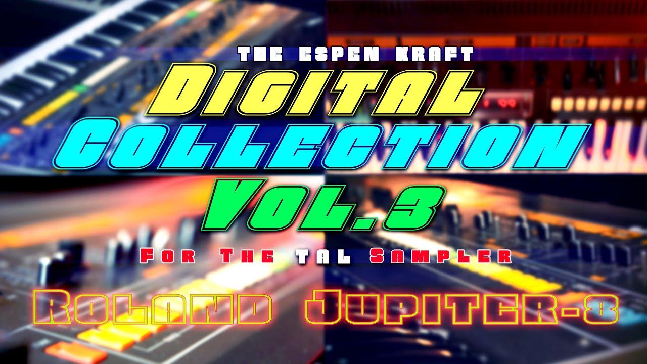 TAL Sampler Digital Collection Vol.3 | Roland Jupiter-8