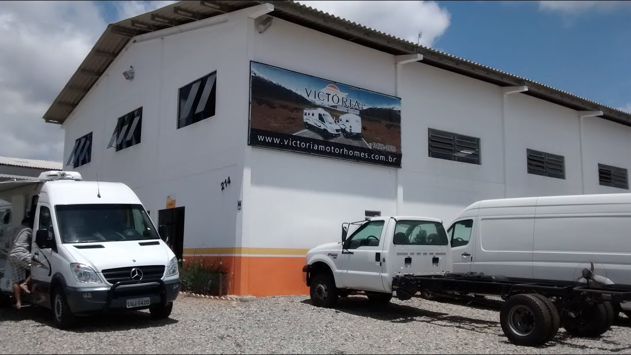 A f brica de motorhome por dentro youtube for Fabrica de estanques de agua