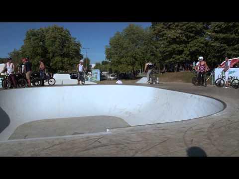 OyoRide - contest #1 - inauguration du park - skatepark Oyonnax