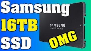 Samsung Massive 16TB SSD on Horizon