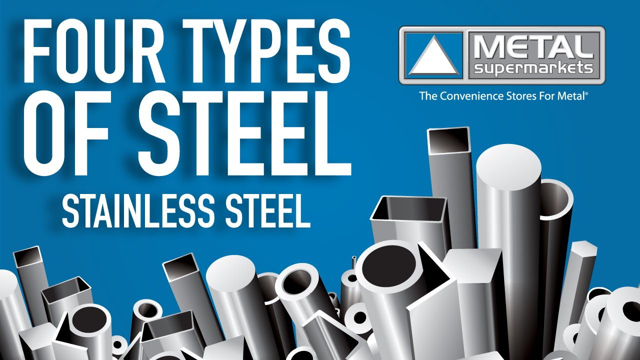 The Four Types Of Steel Part 4 Stainless Steel Metal Supermarkets