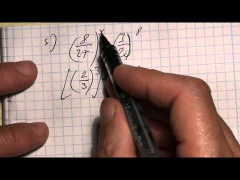 11. o. Exponenciális egyenletek I. típusa