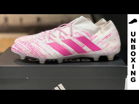 11633bad0 adidas Nemeziz 18.1 FG/AG Virtuso pack - Footwear White/Shock Pink ...