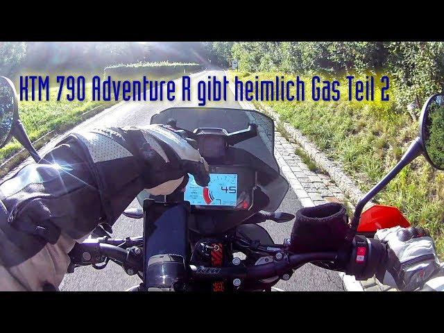 Moto Vlog - KTM 790 Adventure MSR Teil 2 auf der Fahrt zur Dopplerhütte