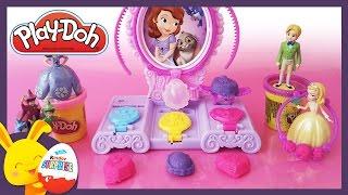 Pâte à modeler PlayDoh Princesse Sofia pour les enfants - Bijoux - Touni Toys - Titounis