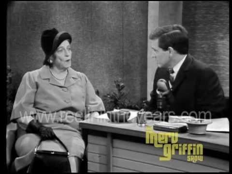 Novelist Pearl S. Buck Interview (Merv Griffin Show 1966)