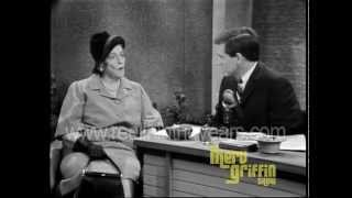 Novelist Pearl S. Buck Interview (Merv Griffin Show 1966)