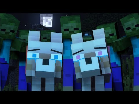 Thumbnail: Wolf Life: Zombie Invasion! - BoxSpring Minecraft Animation