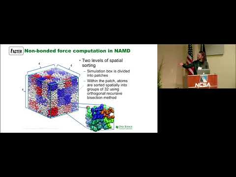 [Charm++ Workshop 2018] Improving NAMD Performance on Multi-GPU Platforms, Dr. David J. Hardy