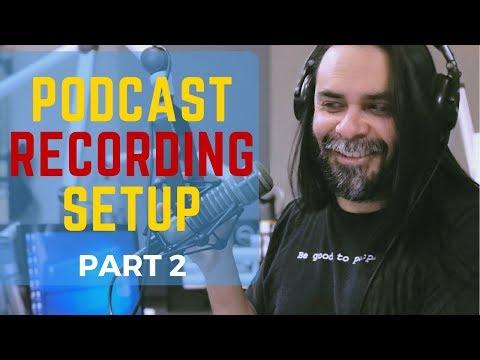 Podcast Recording Setup - Google Hangouts