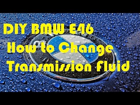 DIY Transmission Oil Change BMW E46 Automatic - YouTube