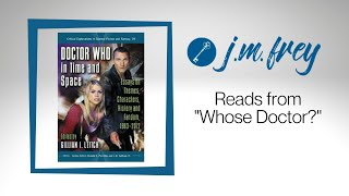J.M. READS - WHOSE DOCTOR