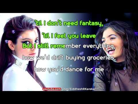 Lorde - Hard Feelings / Loveless (Instrumental) with Lyrics
