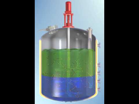 Chemical Reactor Animation