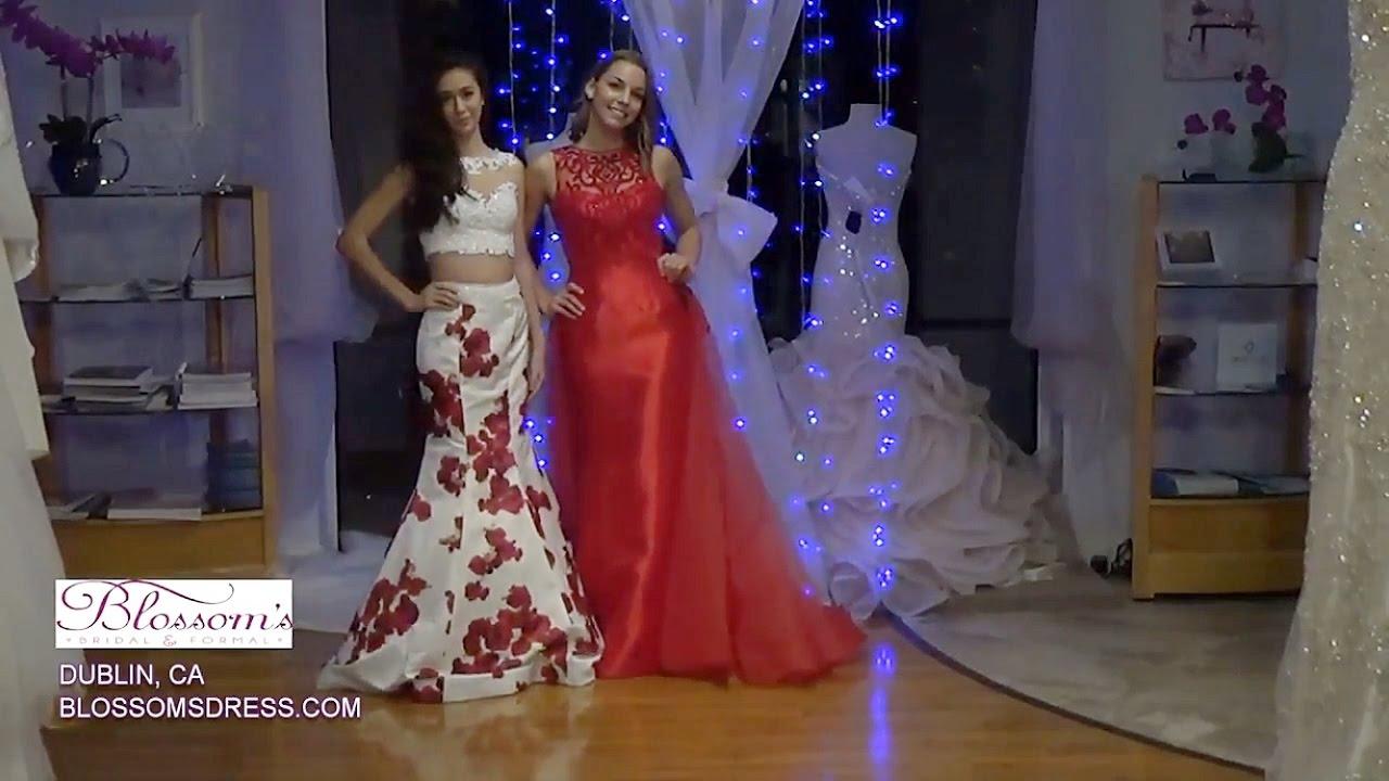 Blossoms Prom Dress Fashion Show 2017
