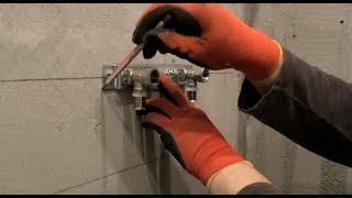 Санузел. Монтаж водопроводных труб и канализации.