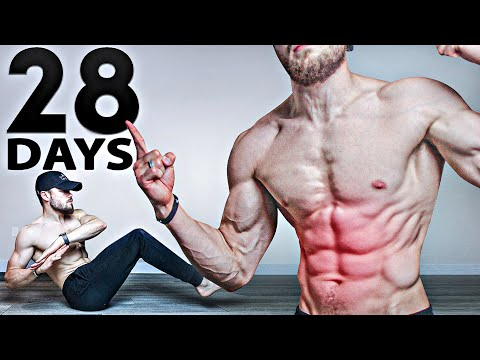Get 6 PACK ABS in 28 Days | Abs Workout Challenge