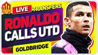 RONALDO Contacts UNITED! SANCHO Latest! Man Utd Transfer News