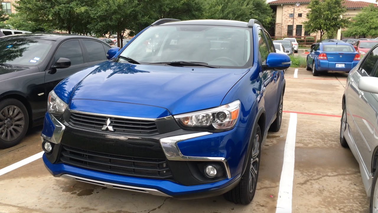 2016 mitsubishi outlander sport gt first drive review