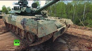 Русские танковые биатлонисты бросают вызов солдатам НАТО
